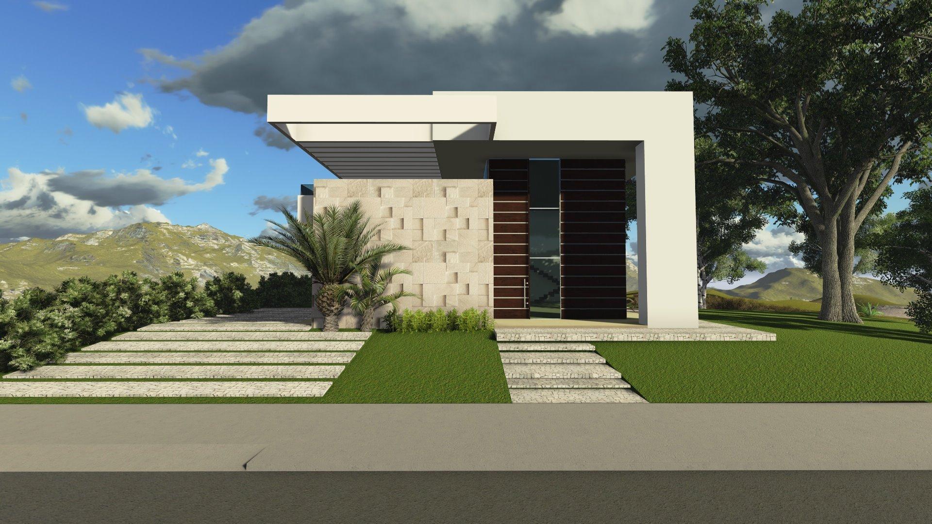 53 modelos de casas com laje for Casas contemporaneas de una planta