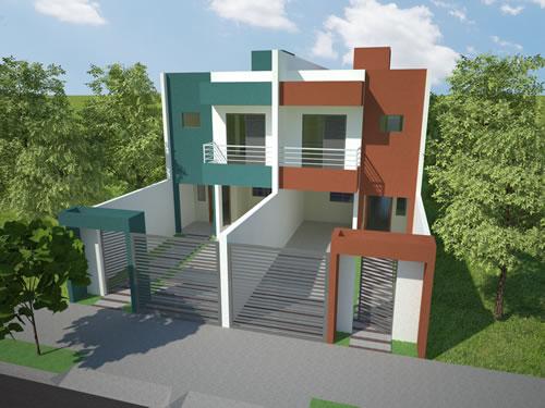 53 modelos de casas com laje for Modelo de fachadas de viviendas