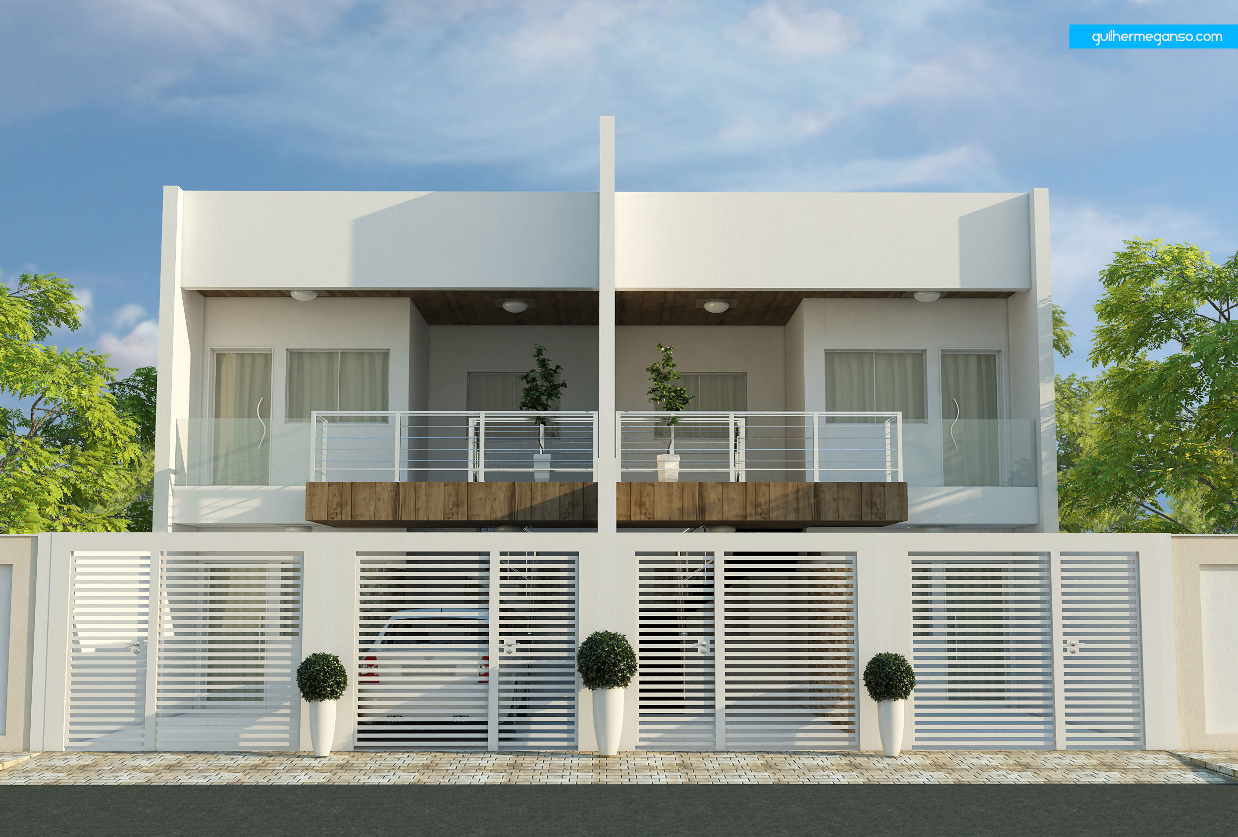 53 modelos de casas com laje for Modelos apartamentos modernos