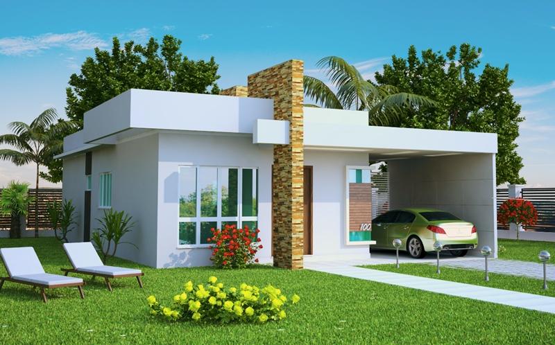 53 modelos de casas com laje - Casas de 1 piso bonitas ...
