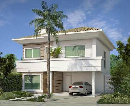 35 modelos de casas para construir for Casas duplex modernas