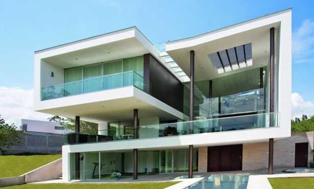 35 modelos de casas para construir for Arquitectura moderna casas pequenas