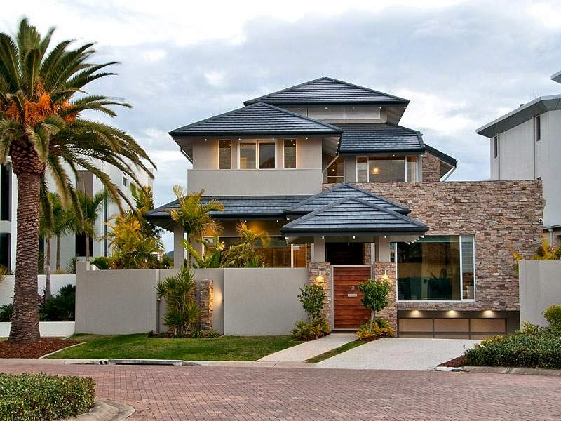 35 modelos de casas para construir for Casas modernas para construir