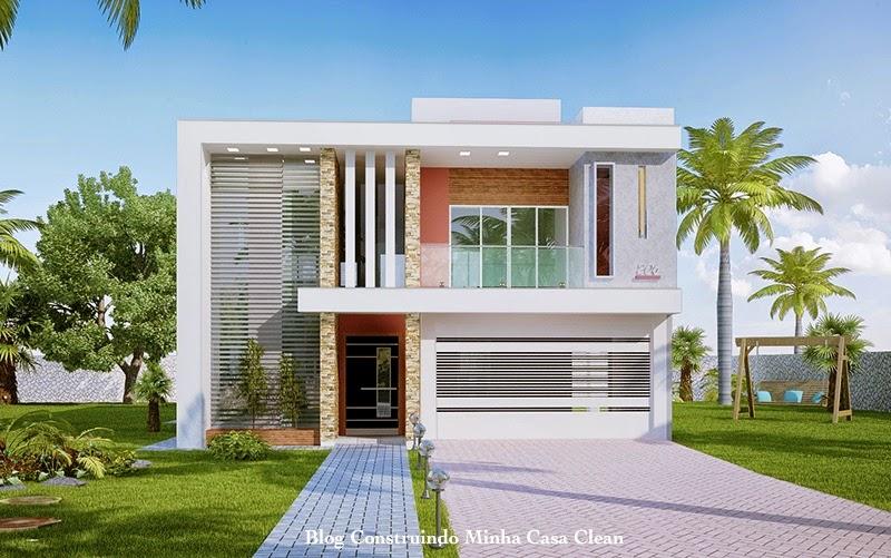 35 modelos de casas para construir for Modelos de casa estilo minimalista