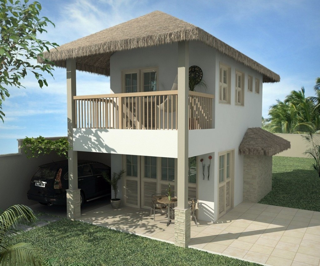 35 modelos de casas para construir for Casa rustica classica