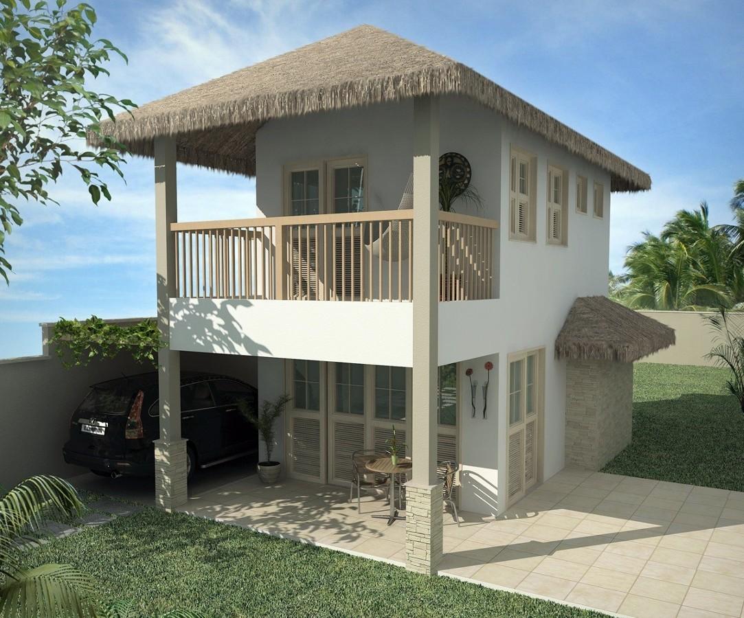 35 modelos de casas para construir for Modelo de casa townhouse