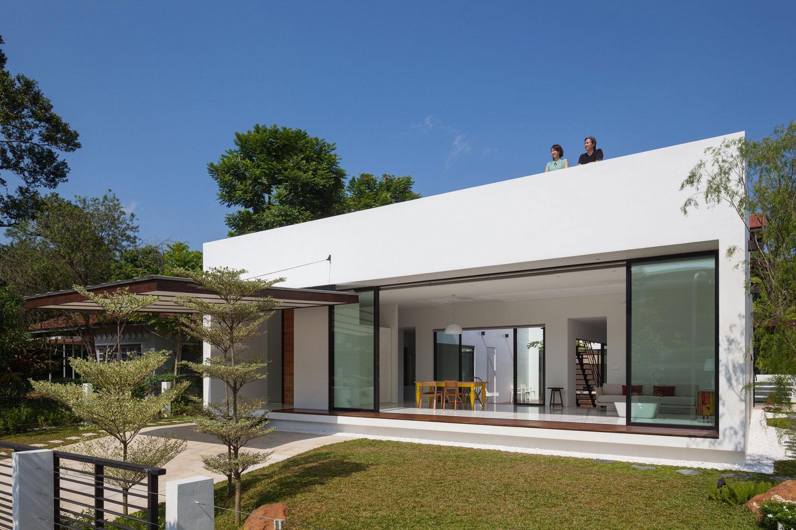 35 modelos de casas para construir for Casa moderna baratas