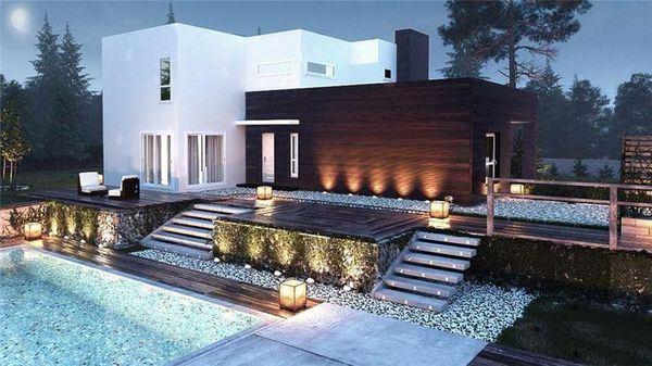 35 modelos de casas para construir On modelos planos de casas para construir
