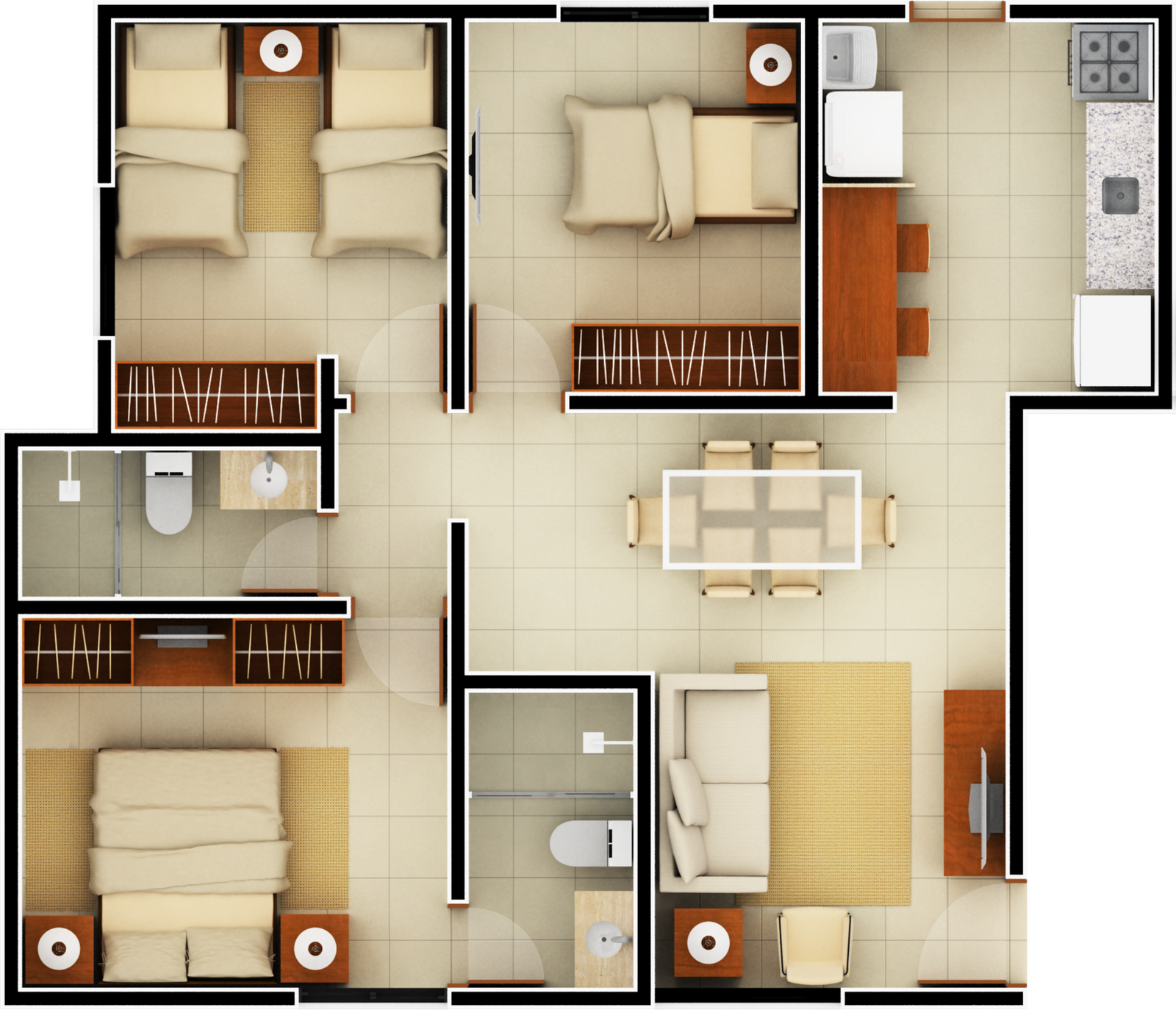 Bedroom Layout For