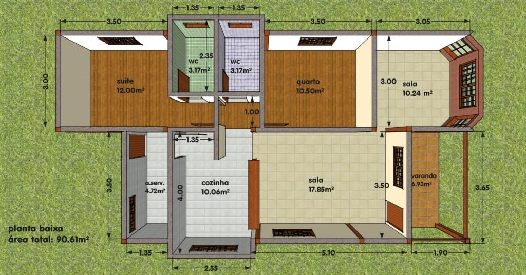 Modelos de Projetos de Casas