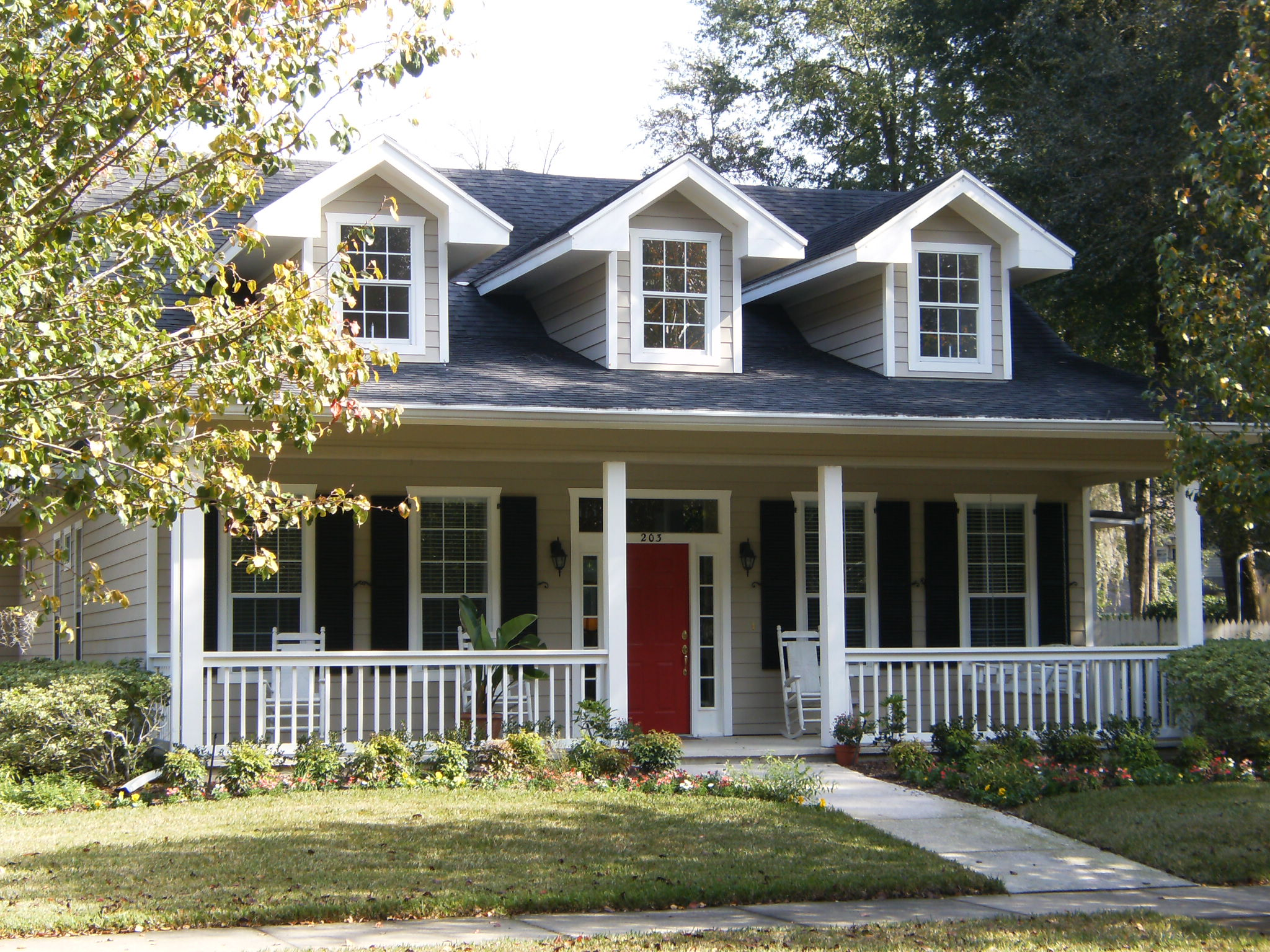 Plantas e modelos de casas estilo americano 17 modelos for Piani casa americana