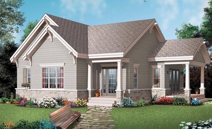Plantas e modelos de casas estilo americano 17 modelos for Cost to build a house in virginia