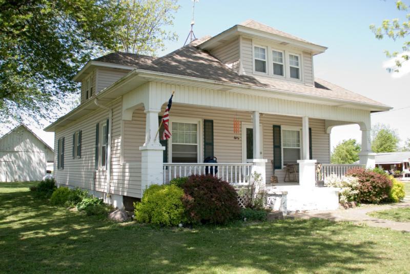 Plantas e modelos de casas estilo americano 17 modelos Casas pequenas con porche