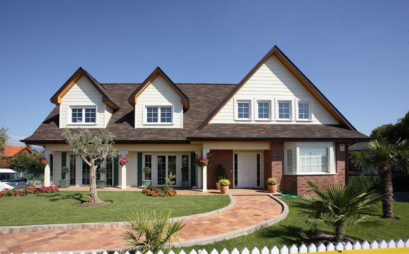 Plantas e modelos de casas estilo americano 17 modelos for Casas canadienses