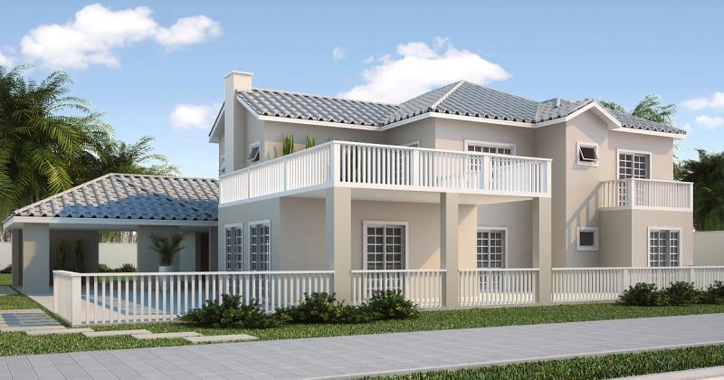 Casas europeias modernas casas de madeira fachada de for Casa moderna americana