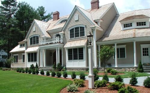 Projetos de casas coloniais 30 modelos for Casa coloniale americana