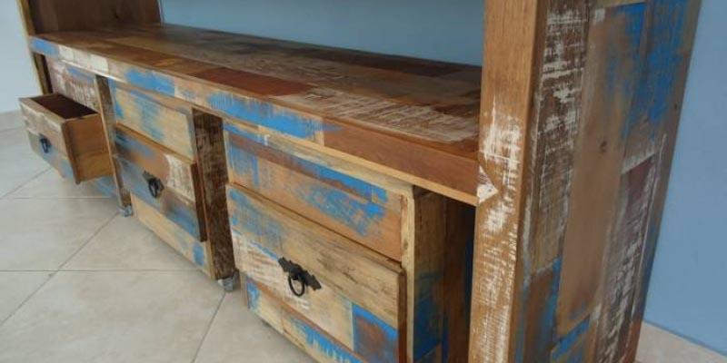 Móveis madeira de demolição como fazer
