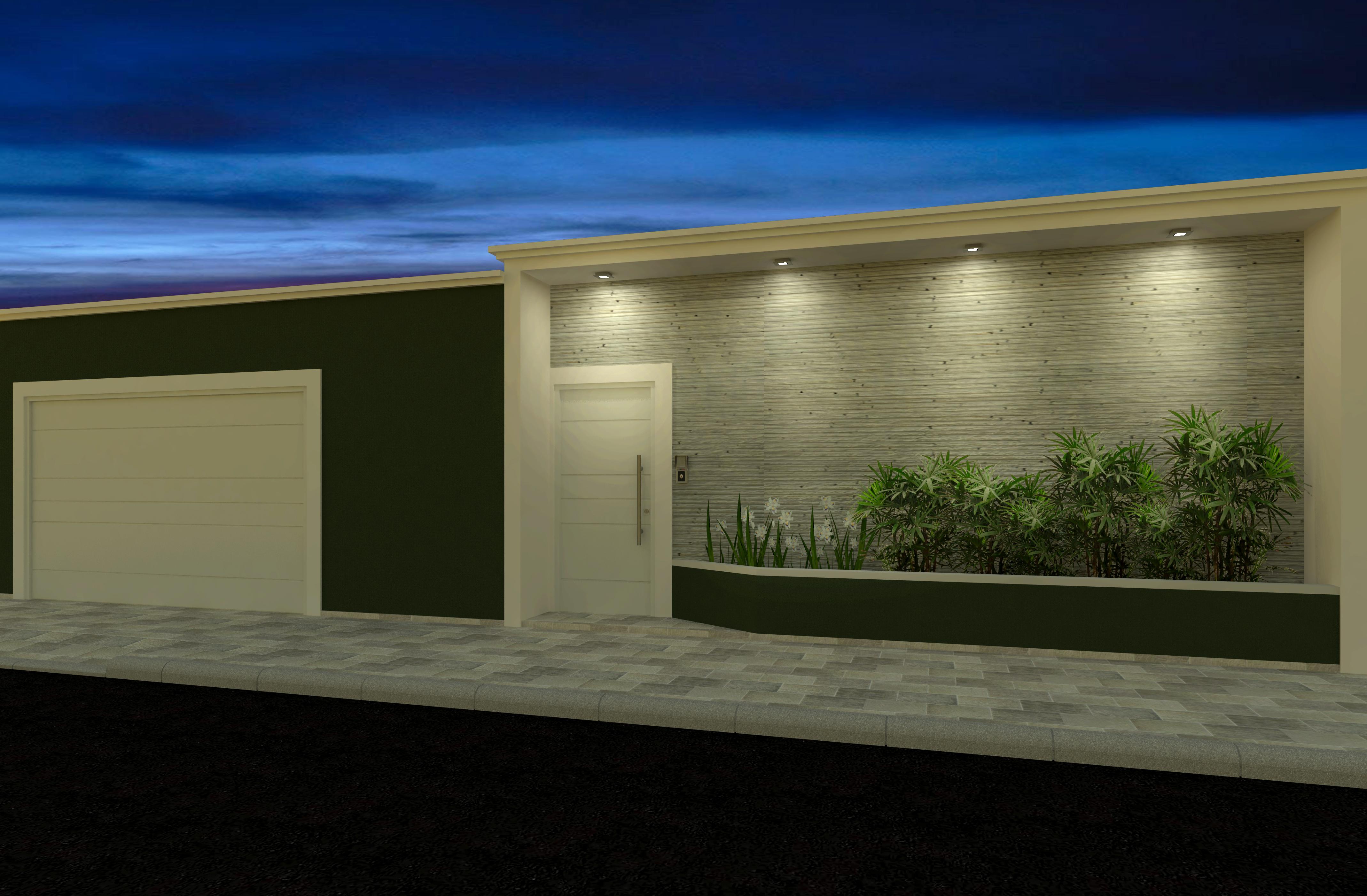 49 modelos de muros e fachadas residenciais - Muros decorativos para interiores ...