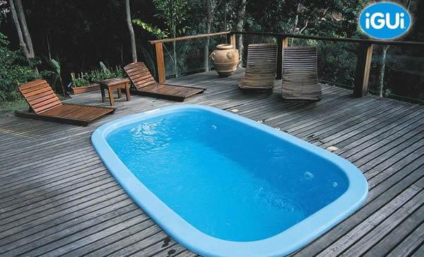 Piscinas igui modelos pre os como comprar for Valor piscina de fibra