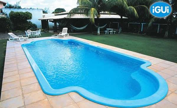 Piscina de fibra ou piscina de alvenaria qual escolher for Modelos en piscina