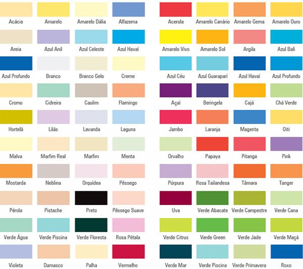 Tinta Suvinil cores