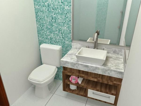 Decoração de Banheiros com Pastilhas