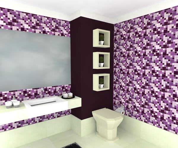 Banheiro com pastilha 10