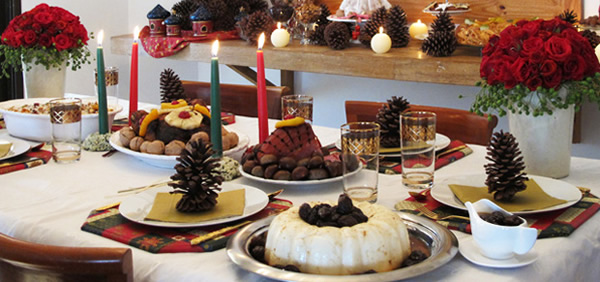 Decoraç u00e3o para Ceia de Natal Fotos, Modelos, Dicas -> Decoração Ceia De Natal Simples