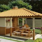 10 modelos de Quiosques Residenciais