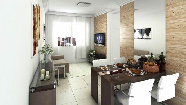 Sala e cozinha conjugada 27