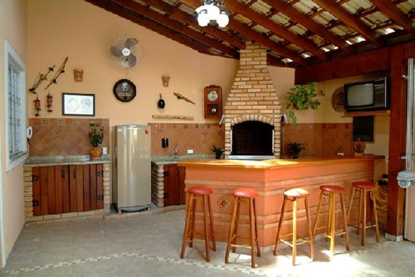 Área de Churrasqueira perfeitas para sua casa # Decoração Para Area Externa Churrasqueira