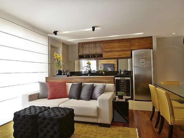 Cozinha com sala 17