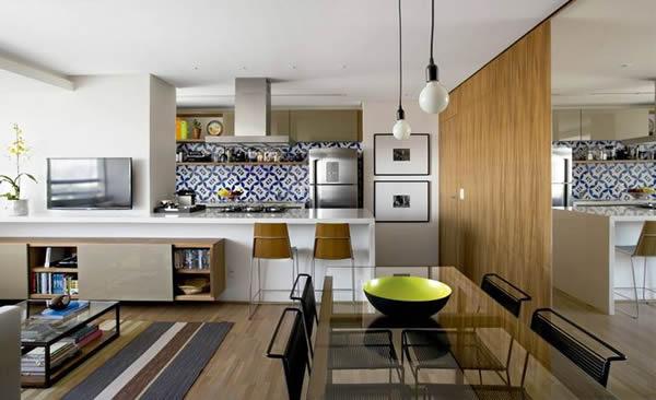 Cozinha com sala 18