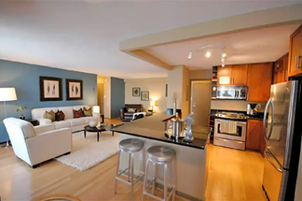 Cozinha com sala 20