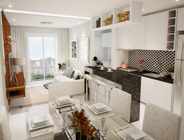 Cozinha com sala 5