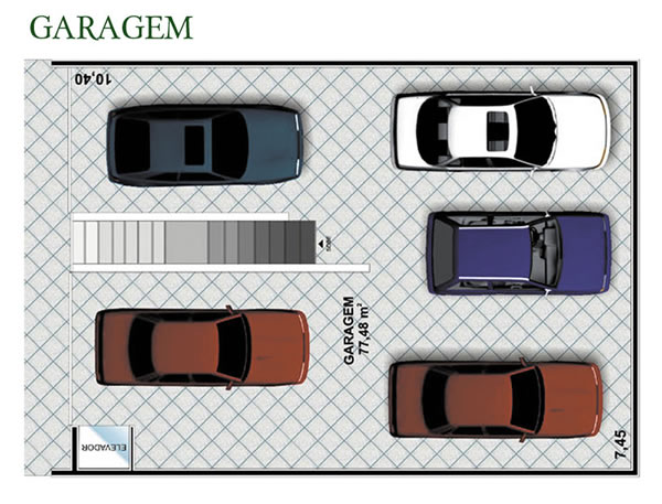 Garagem Ideal para Carros