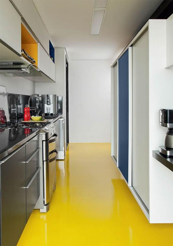 10 modelos de pisos para cozinha for Suelos de cemento para interiores