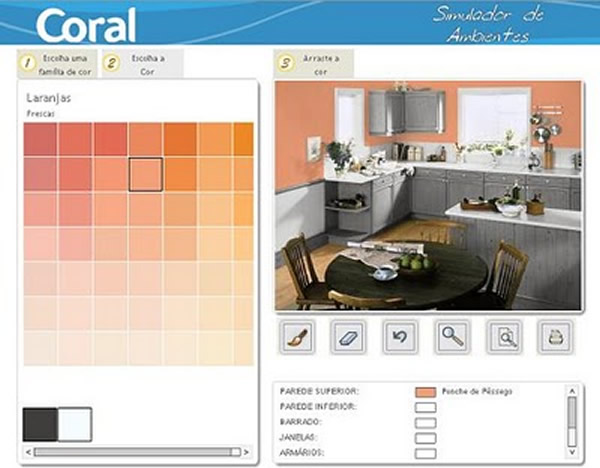 Cores para quarto de casal simuladores - Simulador de colores para paredes ...