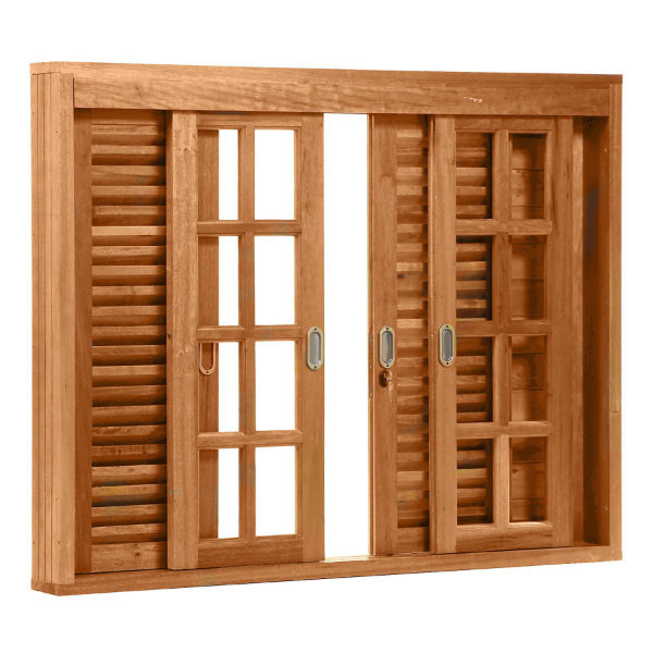 grades para janelas de madeira