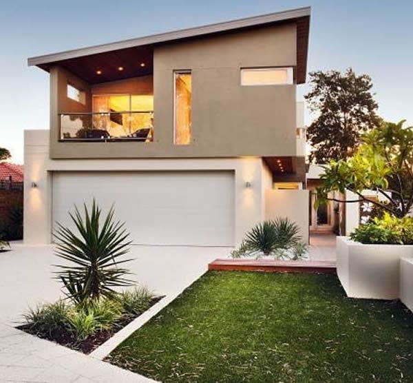 Fachadas de casas 2018 100 modelos para lhe inspirar for Fachadas de casas segundo piso