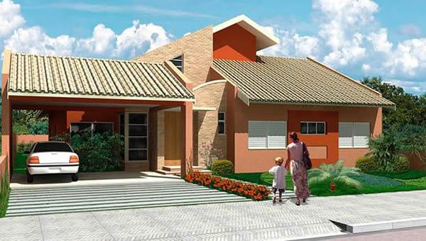 Fachadas de casas 2019 100 modelos de fachadas for Modelos de casas pequenas y bonitas