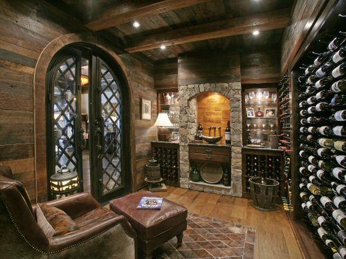 Wine Cellar Ideas Home Design: 30 Projetos De Casas Rústicas