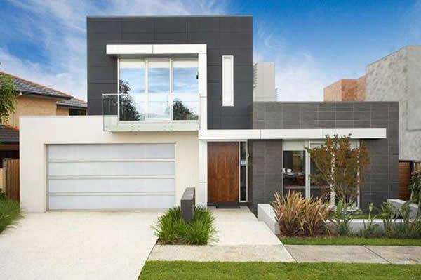 40 modelos incr veis de fachadas de sobrados for Estilos arquitectonicos contemporaneos