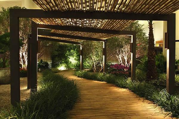 10 modelos de pergolados de bambu. Black Bedroom Furniture Sets. Home Design Ideas