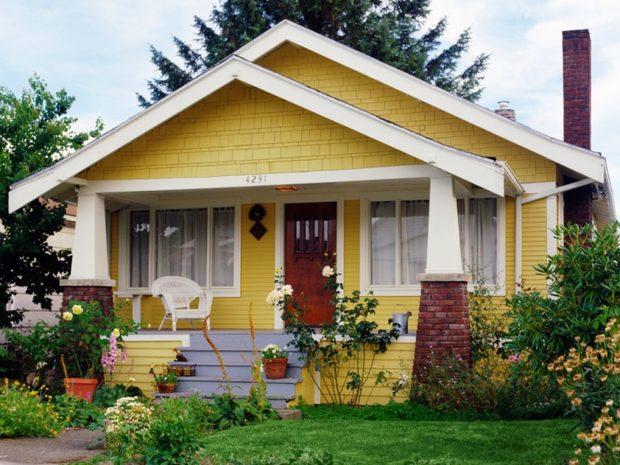 35 Fotos De Pinturas De Casas Simples