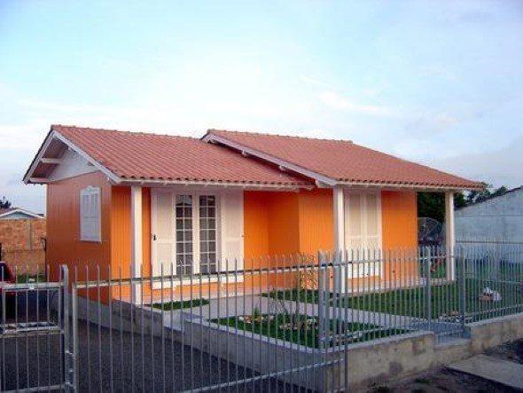 35 fotos de pinturas de casas simples - Pinturas para fachadas de casas ...