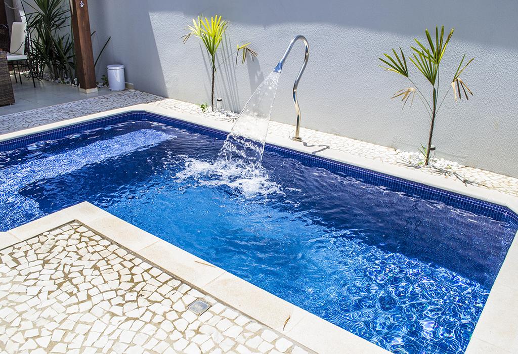Modelos de piscinas para sua casa 40 fotos Fotos piscinas para espacios pequenos