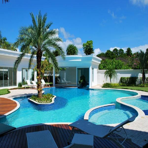 Modelos de piscinas para sua casa 40 fotos for Modelos piscinas pequenas para casas