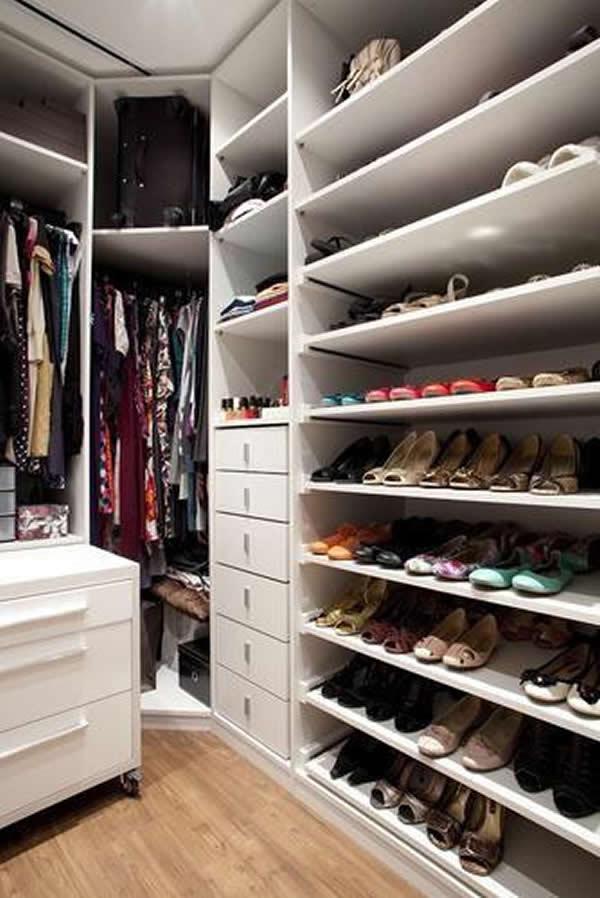 30 modelos de closets pequenos for Closets para apartamentos pequenos