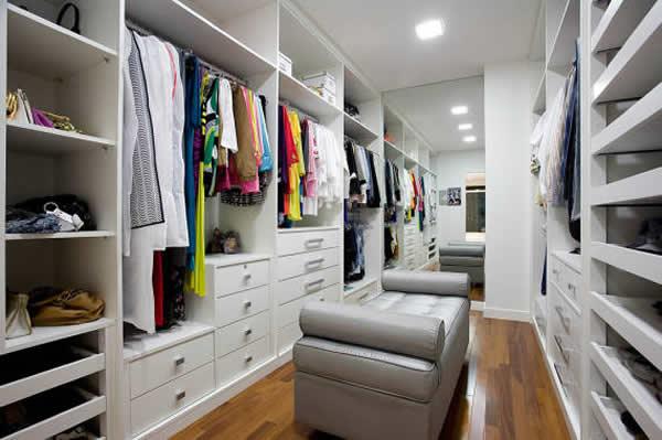 closets modernos e grandes 37 inspira es